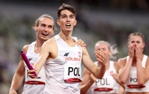 Польща виграла золото Олімпіади у змішаній естафеті на 400 метрів