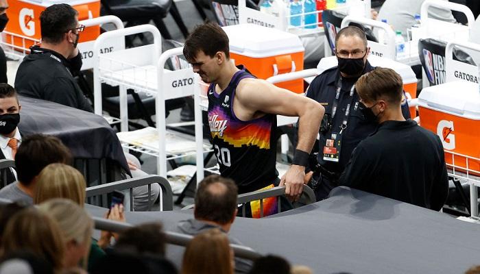 Шарич з Фінікса травмувався на старті фінальної серії НБА