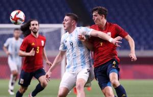 Футбол на Олимпиаде: Аргентина покинула турнир после ничьей с Испанией
