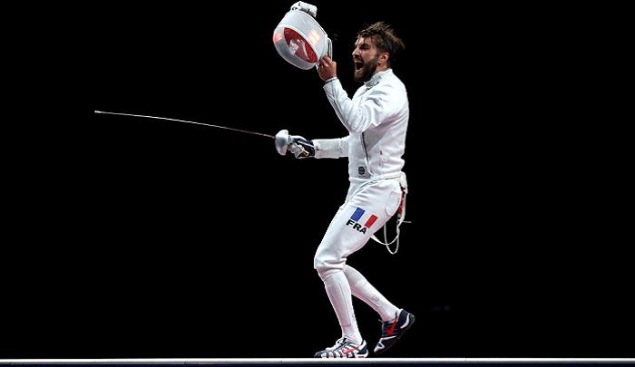 Обидчик Рейзлина Каннон выиграл Олимпиаду в фехтовании на шпагах