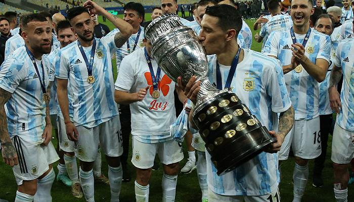Ди Мария признан лучшим игроком финала Копа Америка Аргентина — Бразилия