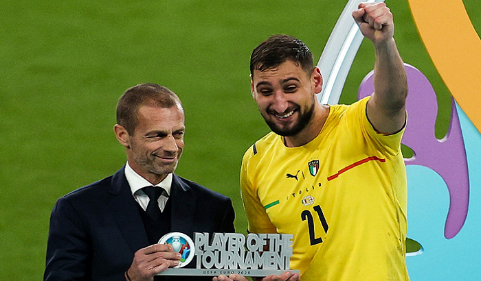 Доннарумма признан лучшим игроком Евро-2020