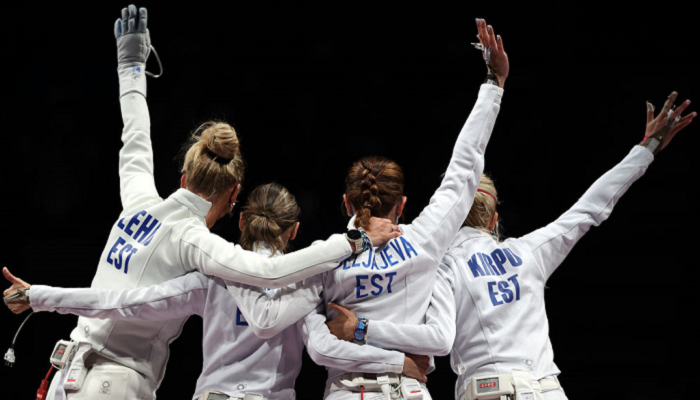 Естонія виграла золото в командних жіночих змаганнях Олімпіади з фехтування