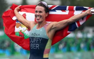 Даффі з Бермудських островів виграла жіночі змагання з тріатлону на Олімпіаді