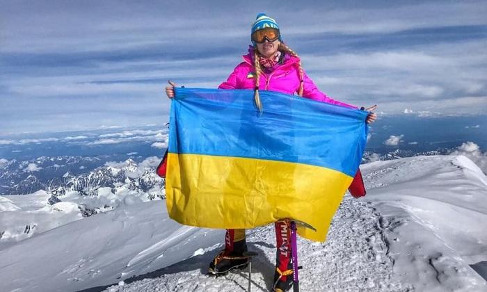 Украинка покорила самую опасную гору в мире