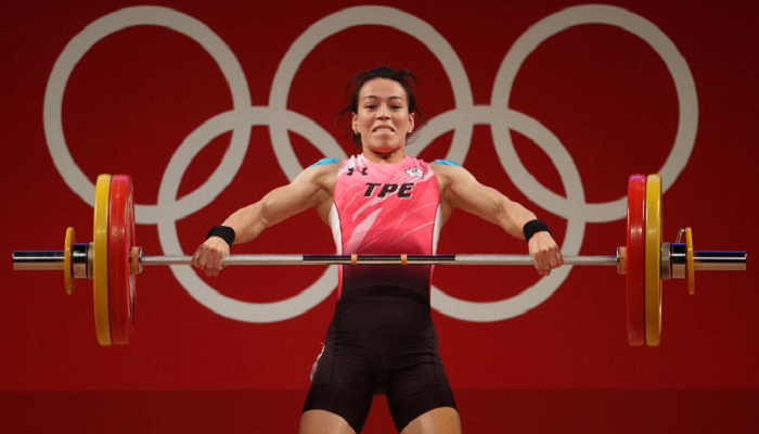 Куо Сін-Чжунь з Китайського Тайбею виграла золото Олімпіади у важкій атлетиці до 59 кг