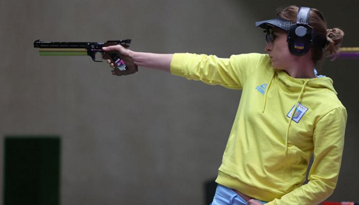 Костевич посіла шосте місце у першому етапі кваліфікації в стрільбі з пістолета на 25 м