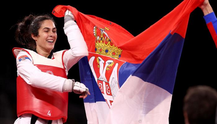 Сербка Мандич виграла олімпійське золото в тхеквондо в категорії понад 67 кг