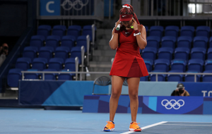 Осака покинула олимпийский теннисный турнир на стадии 1/8 финала