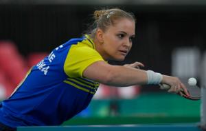 Украинка Песоцкая проиграла свой матч по настольному теннису на Олимпиаде