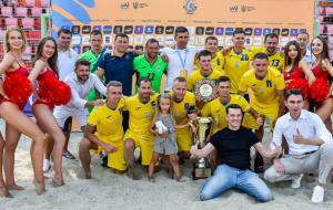 Сборная Украины по пляжному футболу стала победителем Кубка независимости-2021
