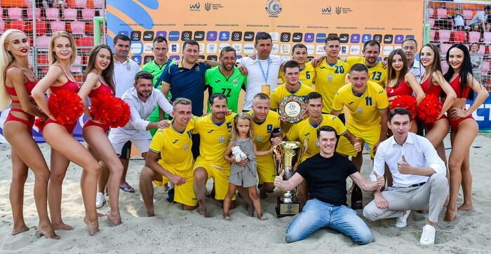 Збірна України з пляжного футболу стала переможцем Кубка незалежності-2021