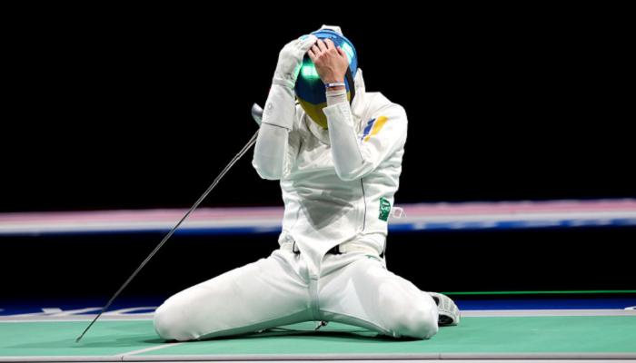 Рейзлін завоював бронзову медаль Олімпіади у фехтуванні на шпагах