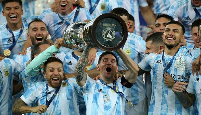 Аргентина минимально победила Бразилию и выиграла Копа Америка