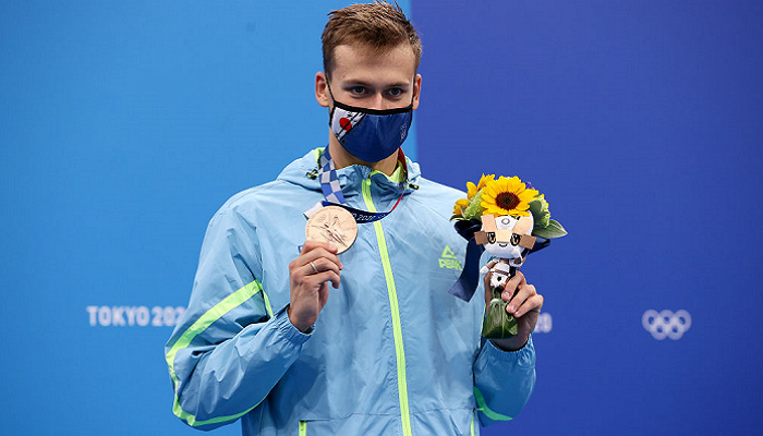 Романчук завоював бронзу Олімпіади в запливі на 800 метрів