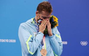 Романчук: К этой награде я шел 18 лет, когда только начал заниматься плаванием