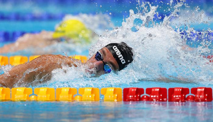 Романчук с олимпийским рекордом вышел в финал плавания на 800 метров. Квалифицировался также украинец Фролов