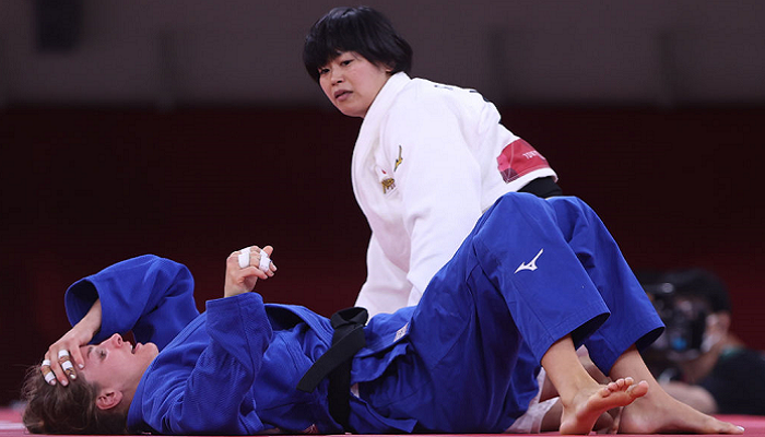 Японська дзюдоїстка Хамада виграла золото Олімпіади в категорії до 78 кг