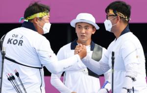 Південна Корея виграла чоловічий турнір зі стрільби з лука на Олімпіаді