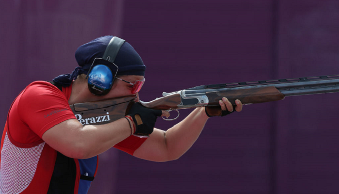 Штефечекова зі Словаччини виграла золото Олімпіади в стендовій стрільбі в трапі