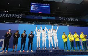 США выиграли мужскую эстафету по плаванию на Олимпиаде, личное золото добыли Титмус, Пити и Макнил