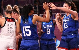 Женская сборная США выиграла олимпийский турнир по баскетболу 3х3