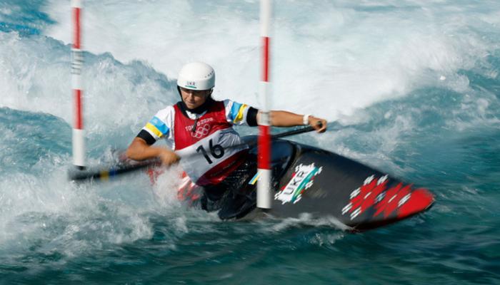 Українка Ус вийшла до фіналу гребного слалому на каное на Олімпіаді