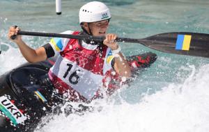 Виктория Ус — седьмая в гребном слаломе на каноэ. Олимпийская чемпионка — австралийка Фокс