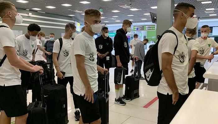 Ворскла в складі 21 футболіста вирушила до Фінляндії на матч з КуПСом