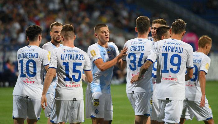 Онлайн видеотрансляция матча восьмого тура чемпионата Украины Динамо - Александрия