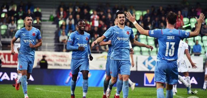 Качараба забил за Славию в матче чемпионата Чехии