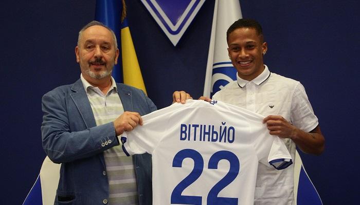 Вітіньо дебютував за Динамо в матчі з Олександрією