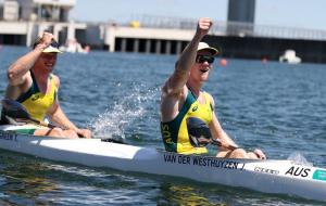 На Олімпіаді розіграли чотири комплекти нагород у веслуванні