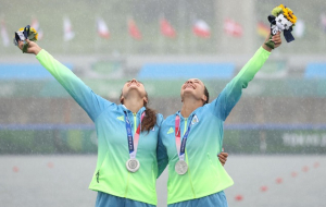 Лузан и Четверикова завоевали золото чемпионата мира в гребле на каноэ-двойке