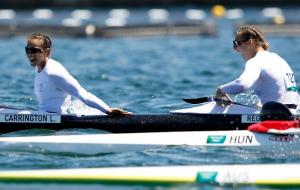На Олімпіаді розіграли чотири комплекти медалей у веслуванні