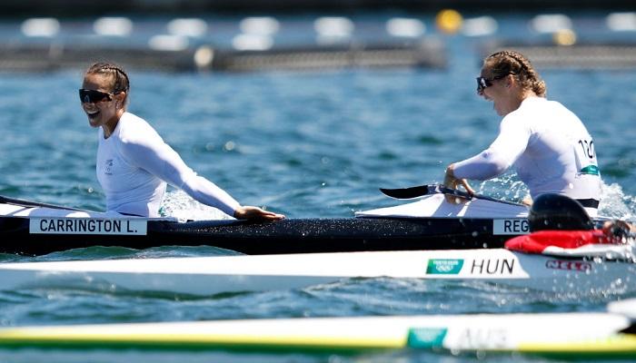На Олимпиаде разыграли четыре комплекта медалей в гребле