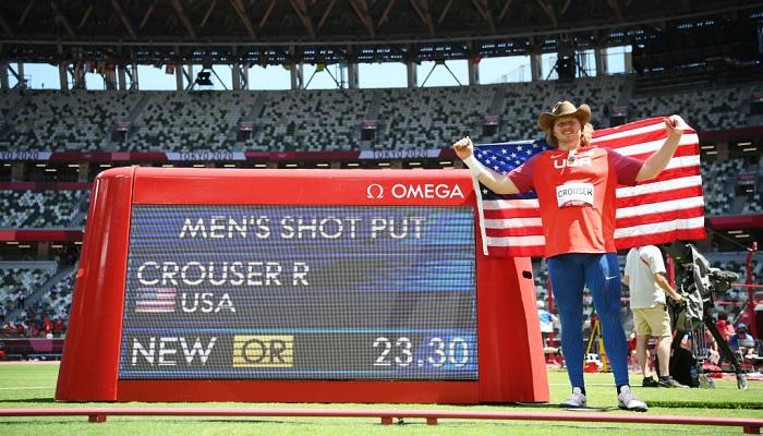 Американец Краузер выиграл золото Олимпийских игр в толкании ядра