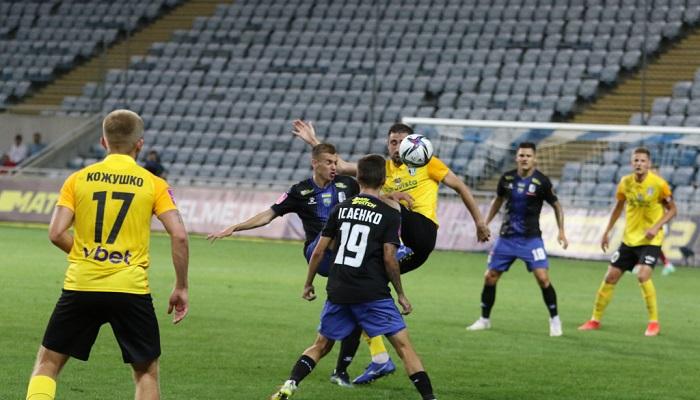 Черноморец и Александрия сыграли вничью в матче с четырьмя голами