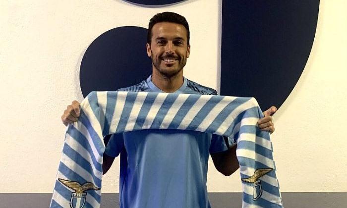 Лацио объявил о подписании Педро