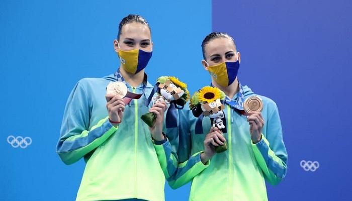 Федина и Савчук завоевали бронзу в артистическом плавании на Олимпиаде
