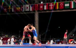 На Олімпіаді в Токіо розіграли три комплекти медалей в боротьбі