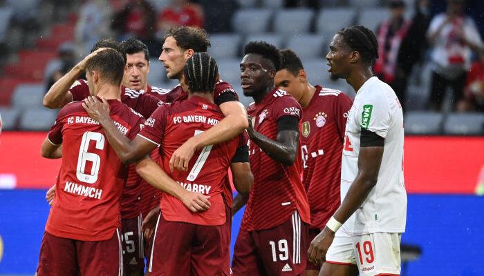 Баварія вдома перемогла Кельн в матчі з п'ятьма голами