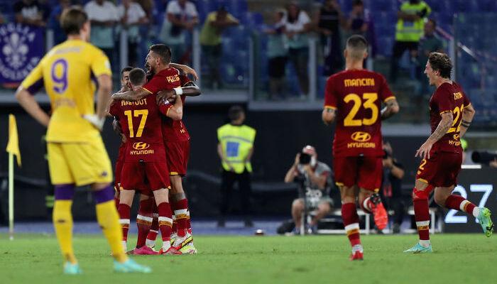 Рома перемогла Фіорентину в матчі з двома вилученнями