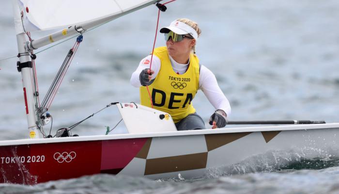 Датчанка Риндом выиграла золото Олимпиады по парусному спорту в классе лазер радиал
