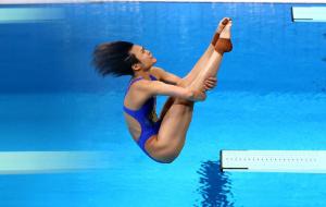 Китаянка Ши Тінмао виграла золото Олімпіади-2020 у стрибках у воду з 3-метрового трампліну