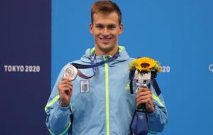 Романчук выиграл серебро Олимпиады в заплыве на 1500 метров вольным стилем