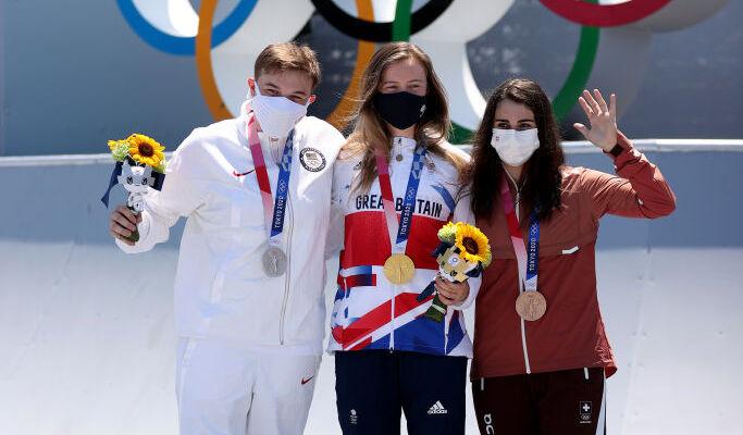 Британка Уортингтон выиграла золото Олимпиады в BMX-фристайле