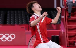 Чень Юфей стала олімпійською чемпіонкою з бадмінтону