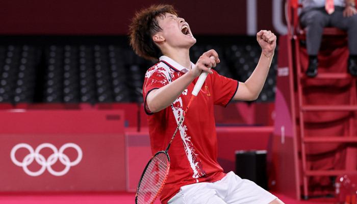 Чэнь Юфей стала олимпийской чемпионкой по бадминтону