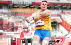 Кохан кваліфікувався у фінал Олімпіади у метанні молота